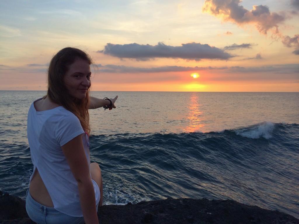 Закат на Бали - Bali sunset