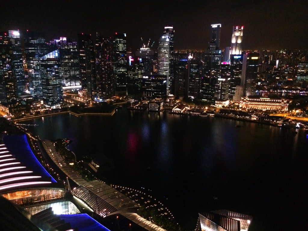 Смотровая Marina Bay Sands