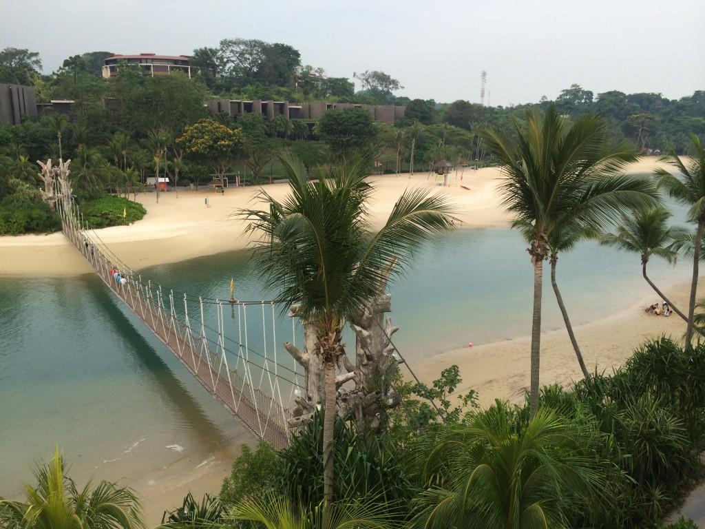 Пляжи Сентозы Сингапур