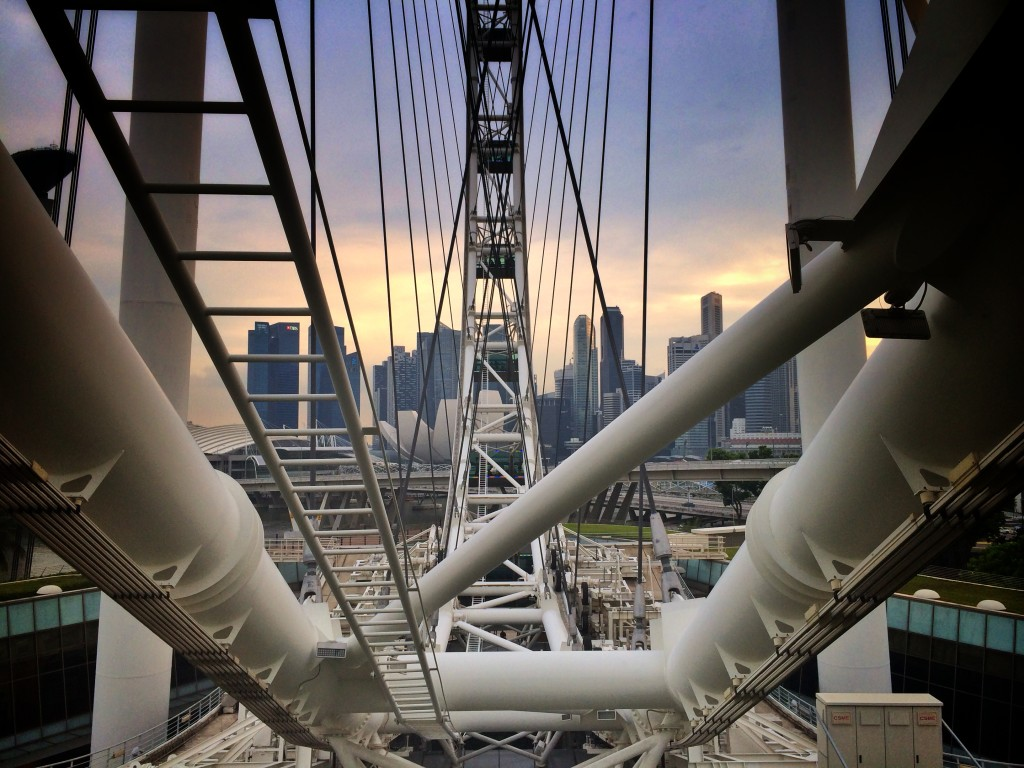 Сингапур - колесо обозрения