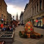 Пасхальная неделя в Москве 19-27 апреля