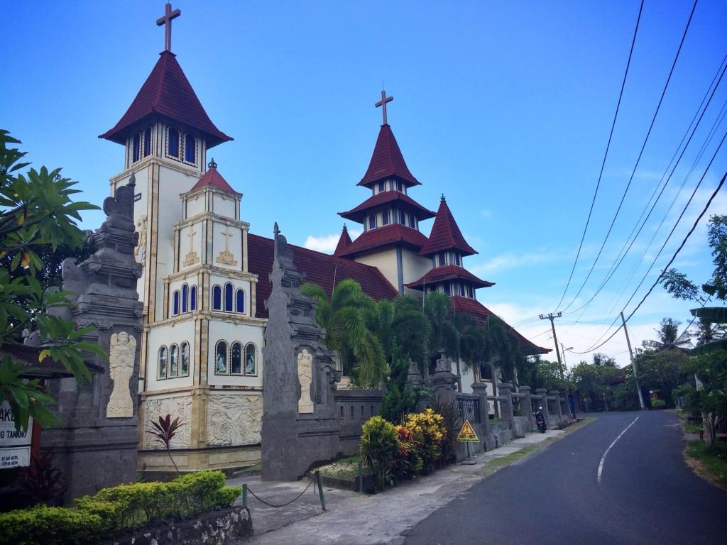 Храм в районе Чангу на Бали
