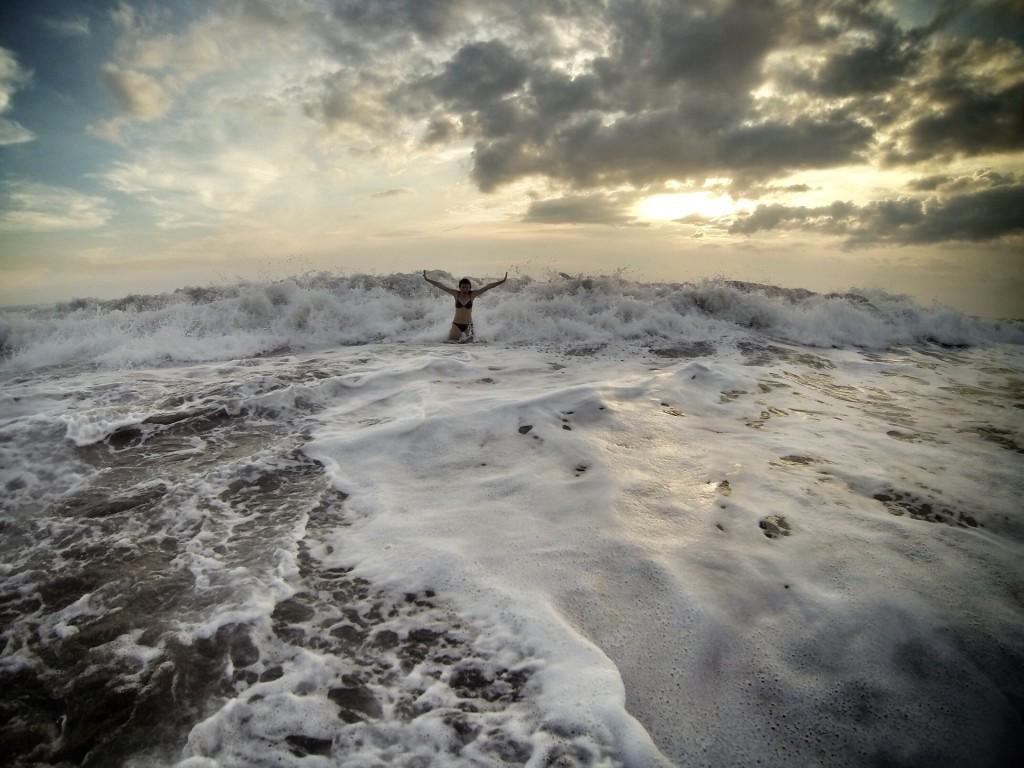 Волны на Бали - Bali waves