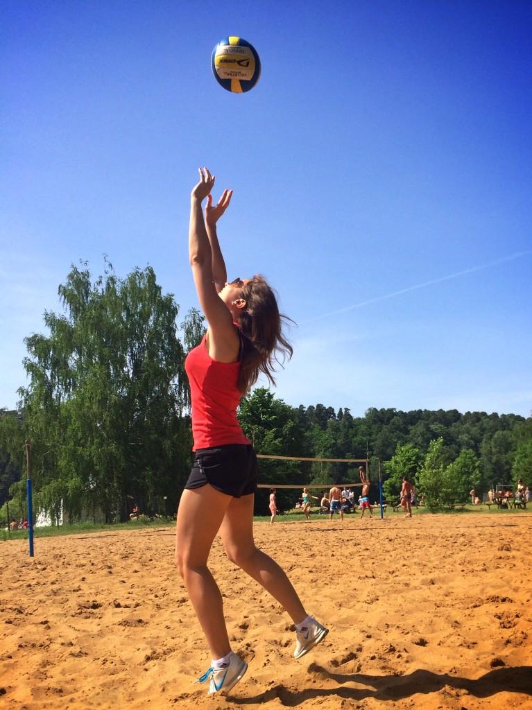 Пляжный волейбол в Москве