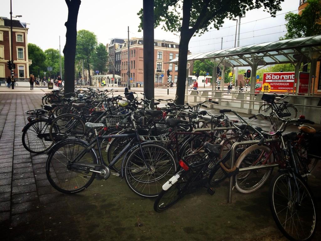 Велосипеды в Амстердаме