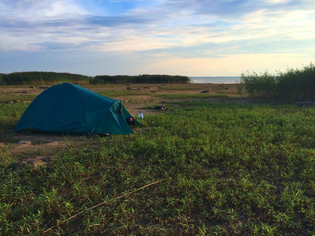 Отдых с палатками в Подмосковье