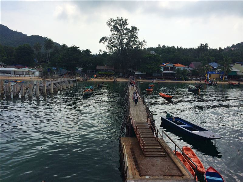 Остановка на Ко Тао Таиланд