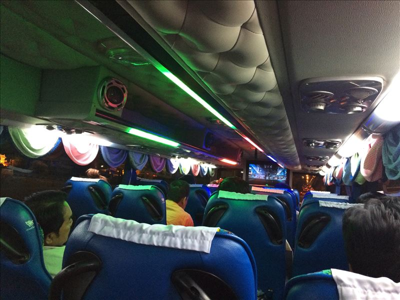 Автобус Бангкок-Чумпхон