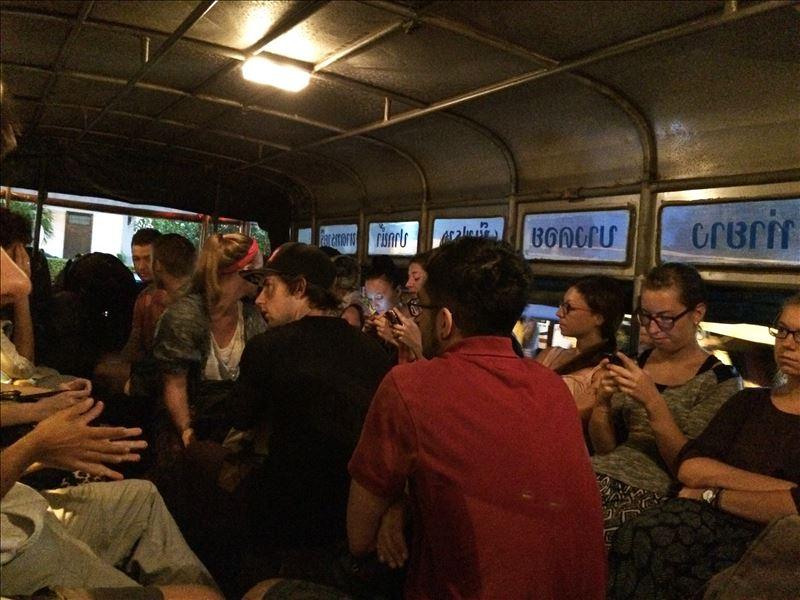 Автобус до порта в Чумпхоне