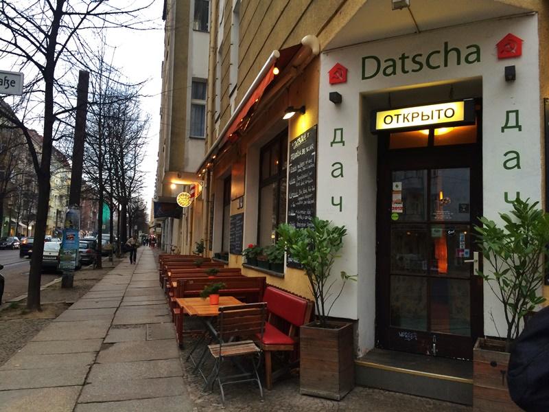 Кафе Datcha в Берлине