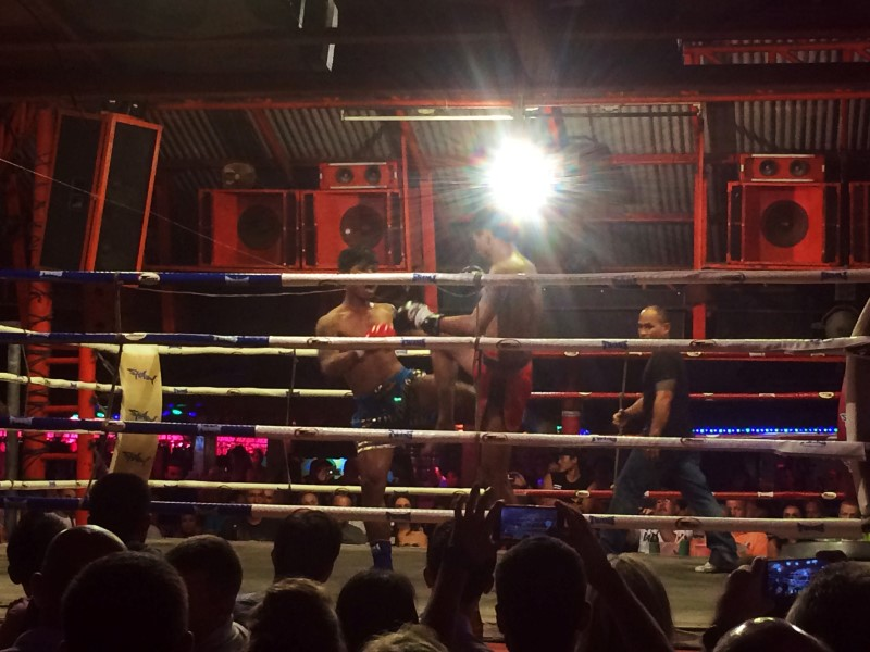 Таиский бокс Самуи