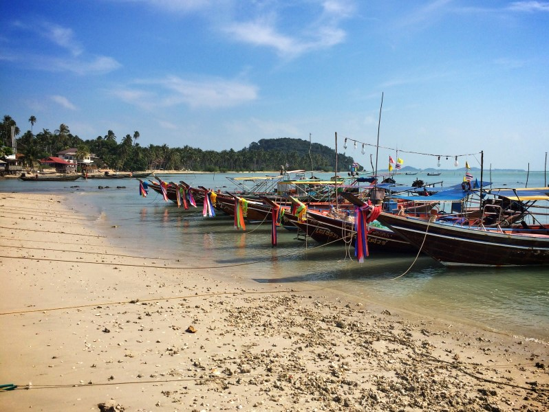 Лодки Самуи