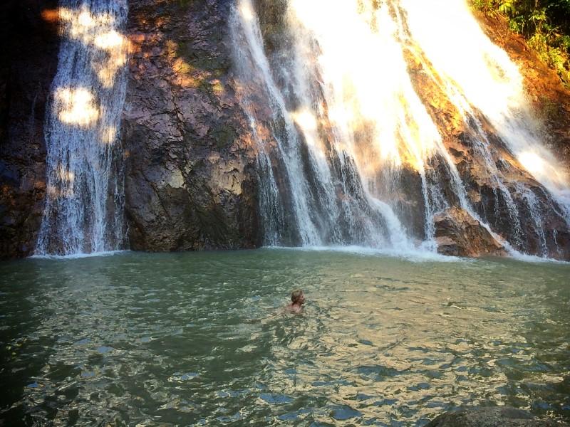Достопримечательность Самуи - водопад На Муанг 1