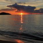 Пляж Lipa Noi – лучшие закаты на острове Самуи