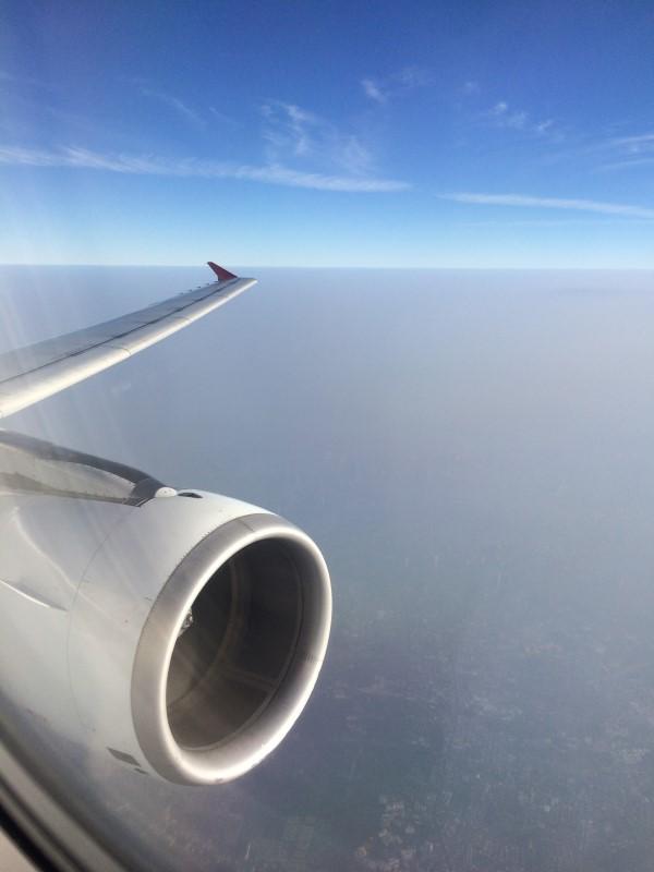 Полет Бангкок-Хошимин