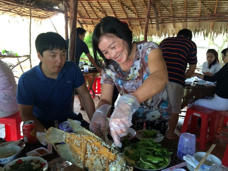 Спринг-роллы во Вьетнаме