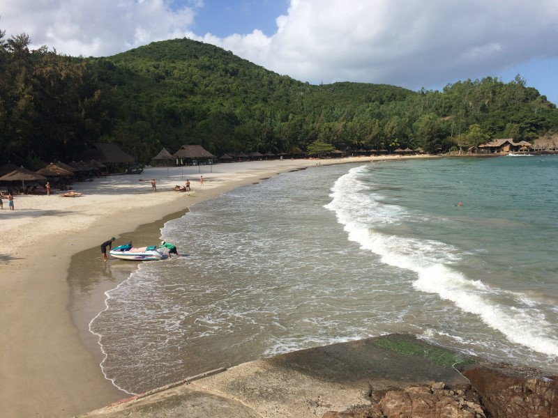 Пляж Dimond Bay Нячанг