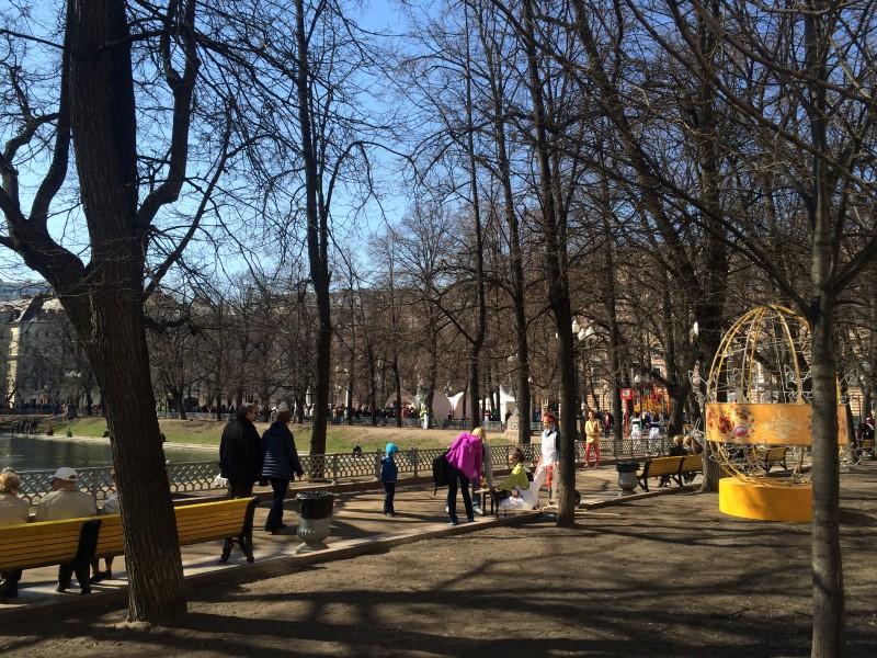 Пасхальная неделя в Москве