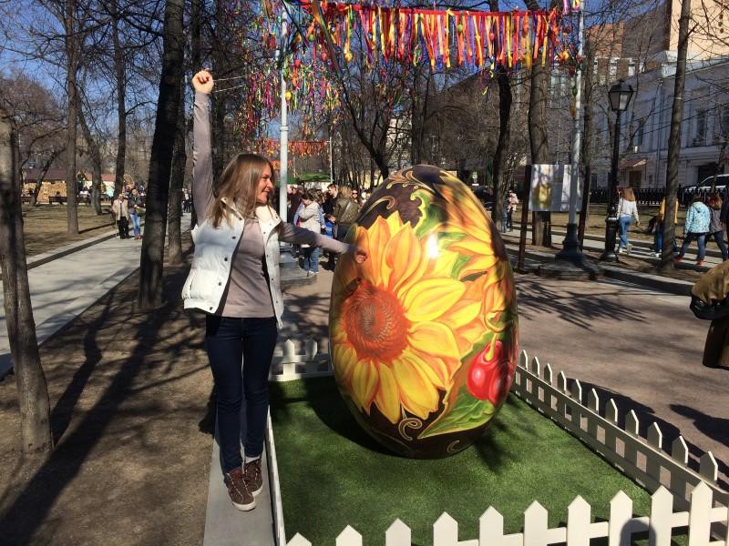 Пасхальные выходные в Москве