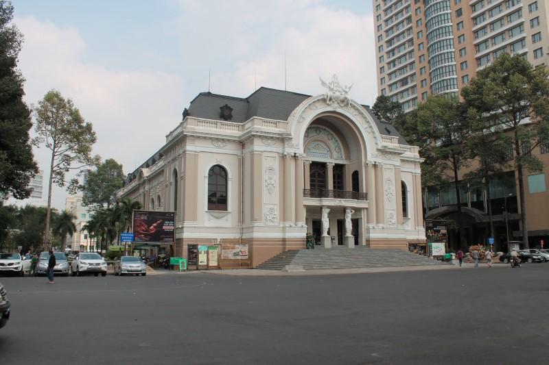 Здание оперы Хошимин
