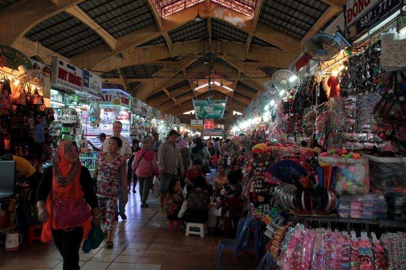 Рынок в Хошимине