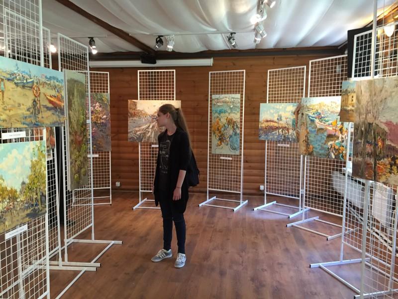 Усадьба Архангельское - выставка Татьяны Потворовой