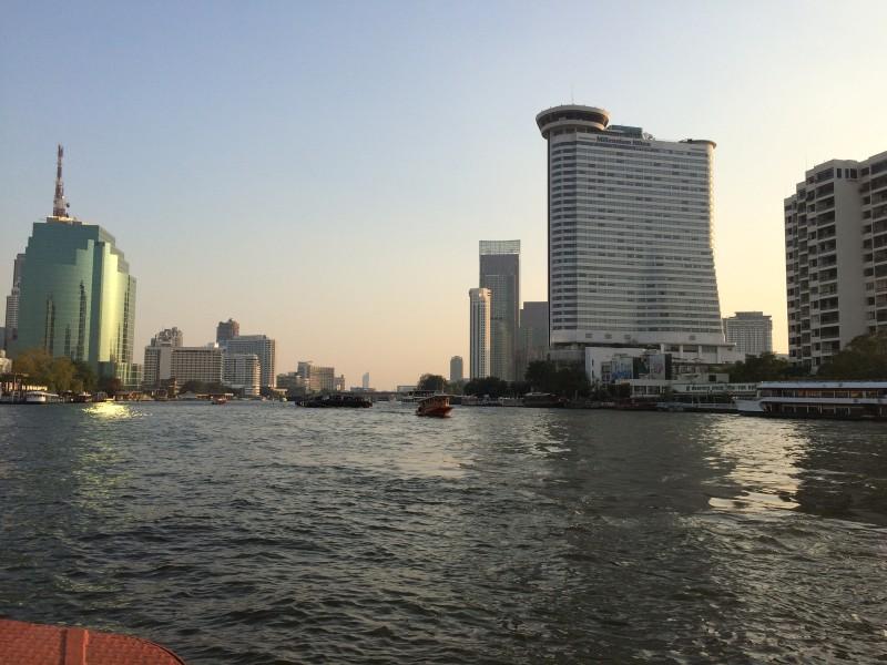 Кораблик в Бангкоке