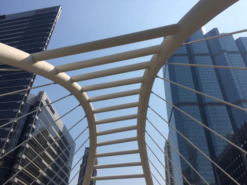 Район Silom Бангкок