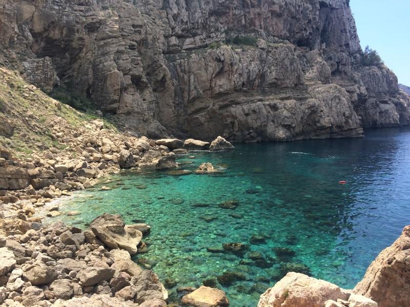 Дикий пляж Ибица