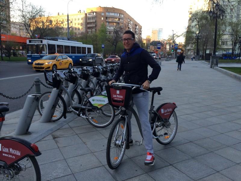 Городской велосипед напрокат Москва