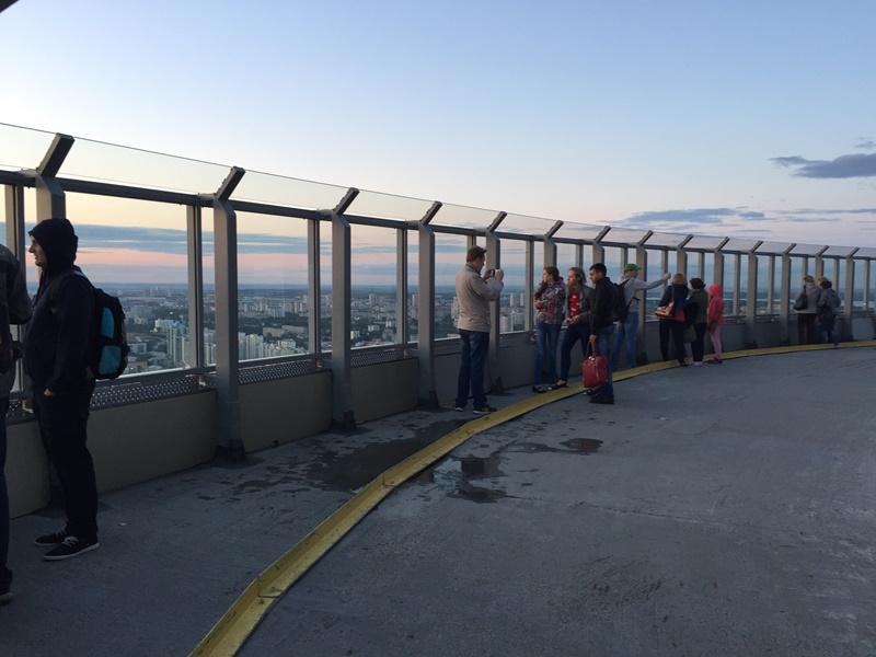 Смотровая башня Высоцкий Екат