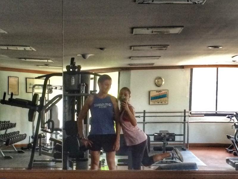 Вместе в спортзал