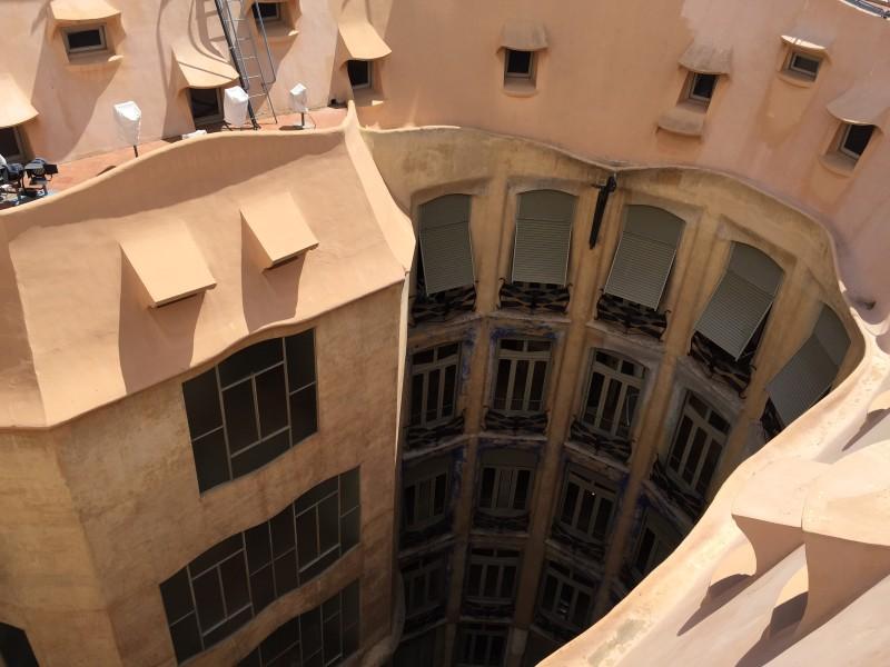 Достопримечательность Барселоны - Дом Мила Ла Педрера