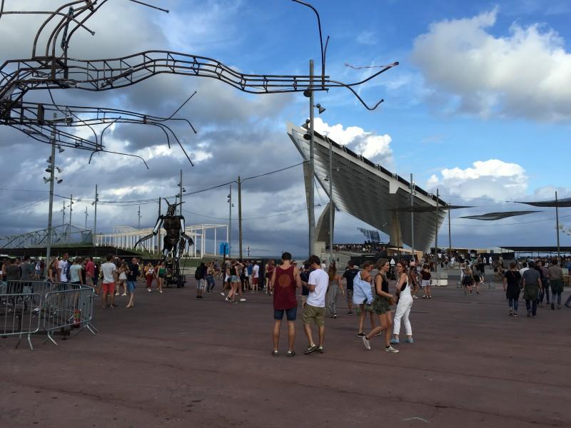 Фестиваль DGTL в Барселоне