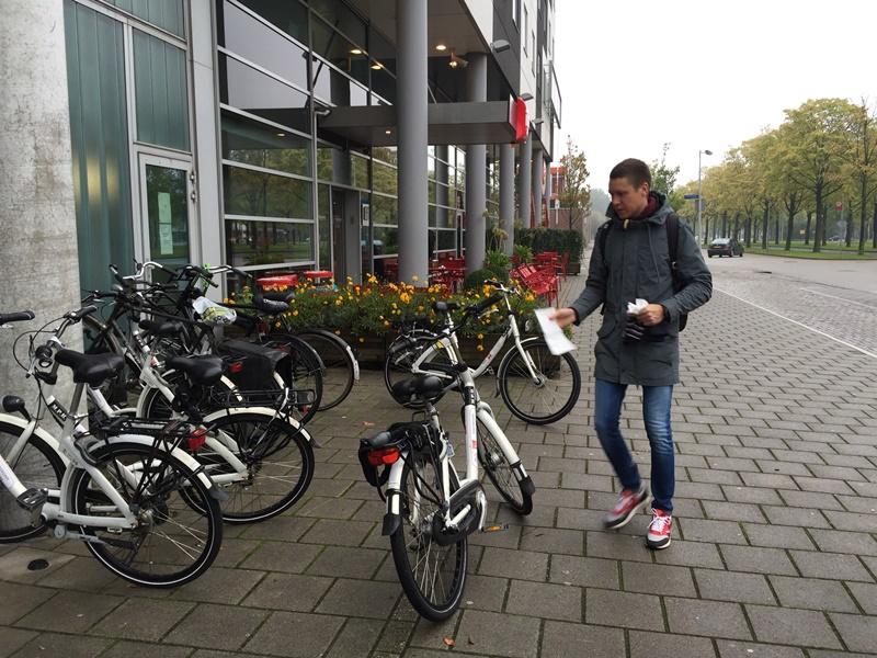 Велосипед напрокат в Амстердаме