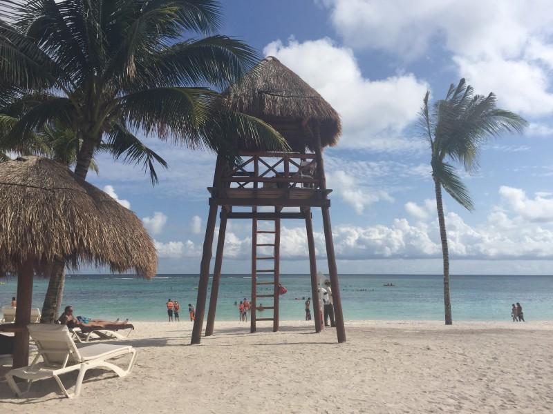 Деревня Акумаль в Мексике