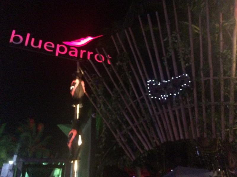 Клуб Blueparrot в Мексике