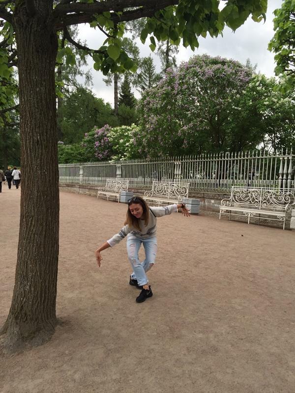 Прогулка в Екатерининском парке