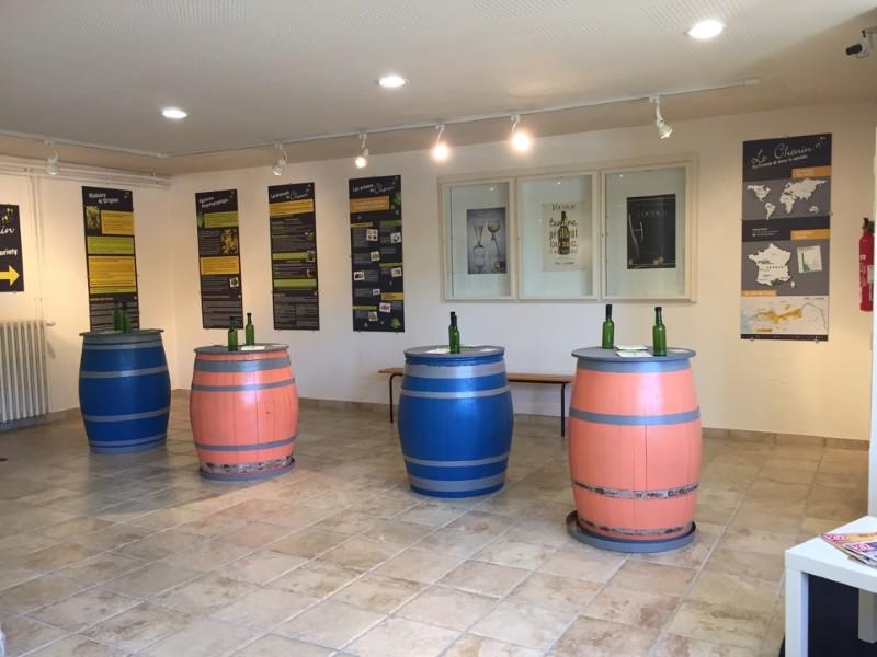 Винодельня погребок долина Вувре