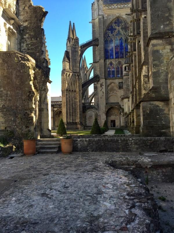 кафедральный собор Сан Гатьен город Тур