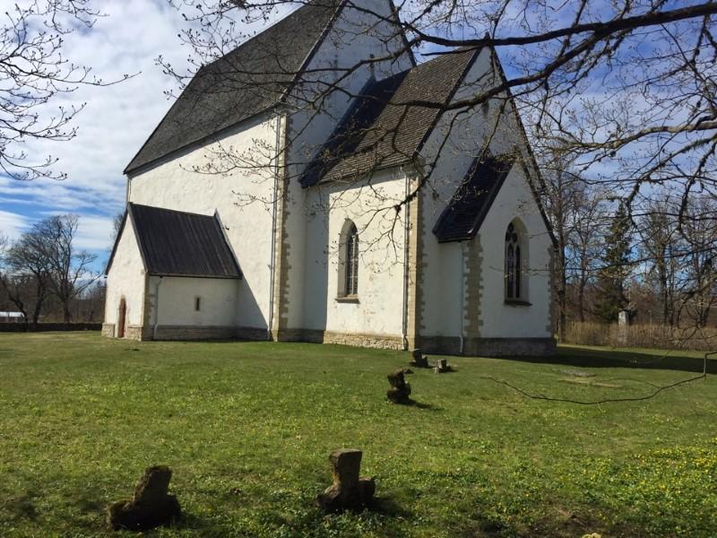 Путешесвие по островам Эстонии: Саарема, Муху