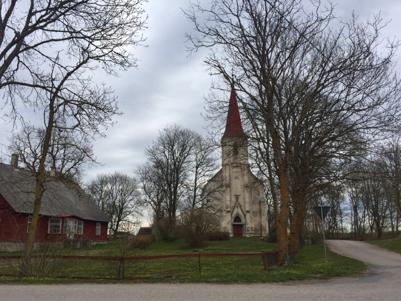 Путешествие по островам Эстонии:Муху, Саарема