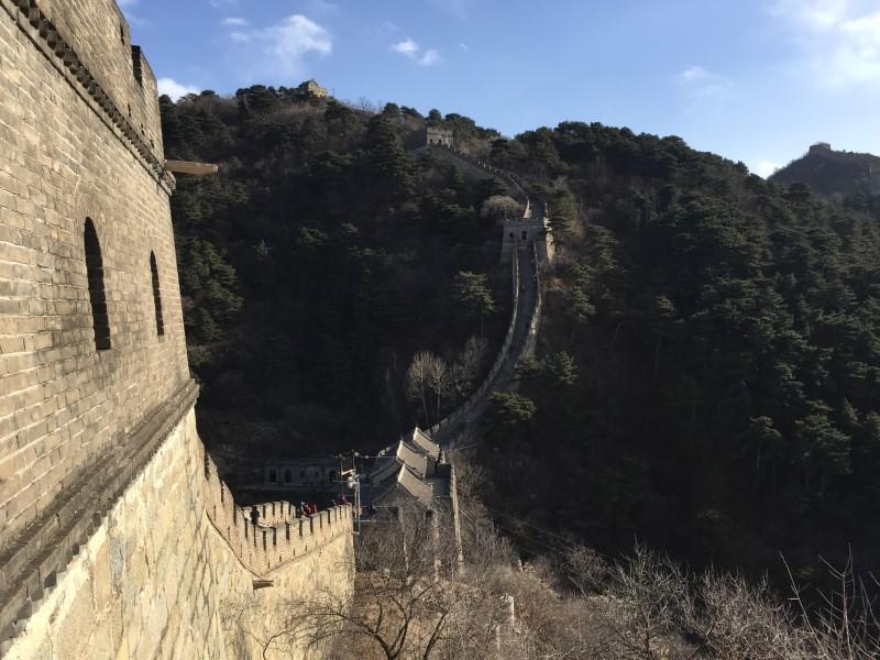 Пересадка в Пекине - Великая китайская стена