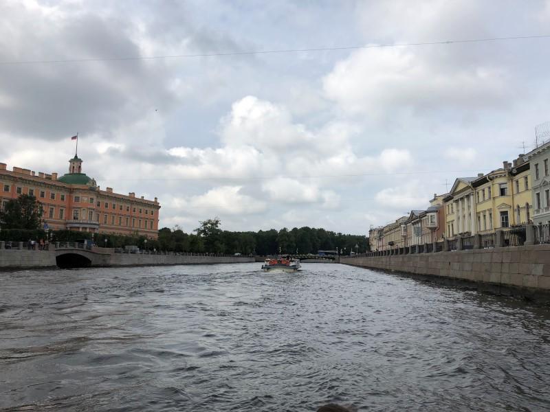 Санкт-Петербург прогулка на катере