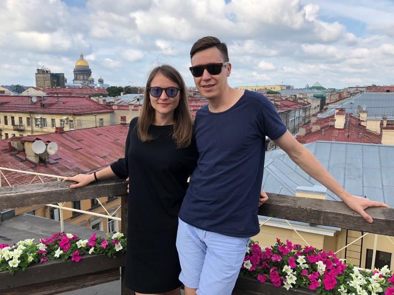 Санкт-Петербург Крыши