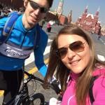 Открытие вело-сезона в Москве и веселый вечер с друзьями
