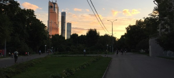 Парки Москвы - парк Красная Пресня